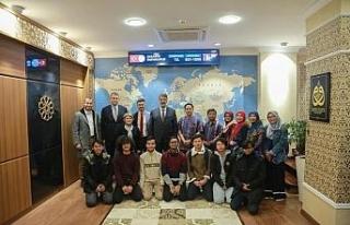 Endonezya'nın Ahmet Dahlan Üniversitesinden Rektör...
