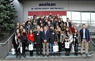 Endüstri Mühendisliği Kulübünden ASELSAN'a...