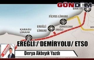 EREĞLİ / DEMİRYOLU/ ETSO