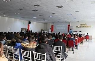"""Karabük'te """"İnsan Hakları"""" konferansı"""