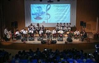 KBÜ'de Türk Halk Müziği konseri
