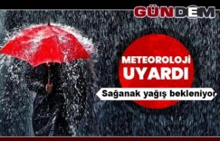 Meteoroloji'den gök gürültülü sağanak yağış...