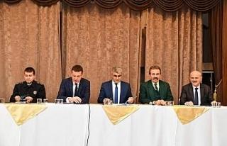 Safranbolu'da muhtarlar toplantısı yapıldı
