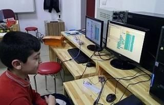 Safranbolu'da öğrenciler geleceği kodluyor