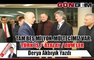 TÜRK İŞ /  ATALAY / AVM'LER