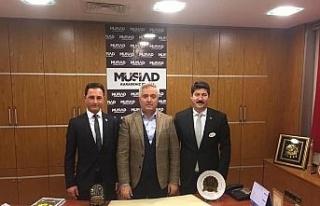 TEKDER, MÜSİAD Kdz. Ereğli yönetimi ile istişarede...