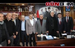 Türk-İş Genel Başkanı Atalay'dan GMİS'e...