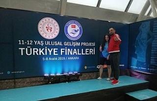 Türkiye finalinden bronz madalya ile döndü