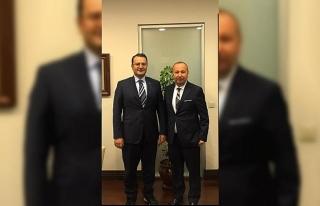 Ulupınar'dan Türkmenistan Büyükelçisi'ne...