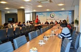 Üniversitede Dünya Azerbaycanlılar Dayanışma...