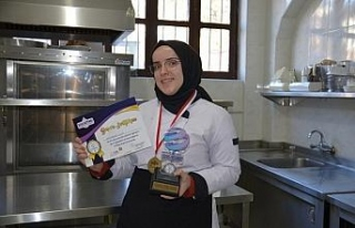 Yemek yarışmasında birinci Usta oldu