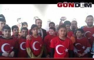 Yerli malı haftasında Türkiye'de ilk sergi...