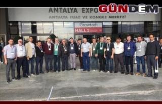 Zonguldak'tan 17 çiftçi büyük fuarda...