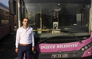 Acil servise otobüs ile götürdü
