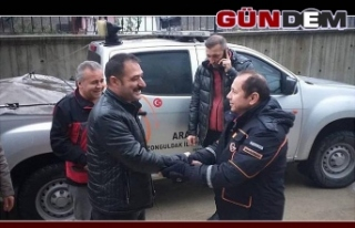 AFAD ekibi Barış Pınarı yolcusu