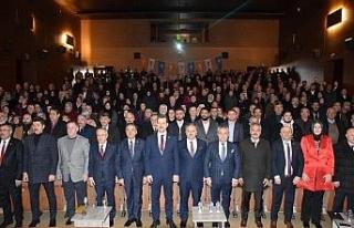 AK Parti'de genişletilmiş il danışma meclisi...