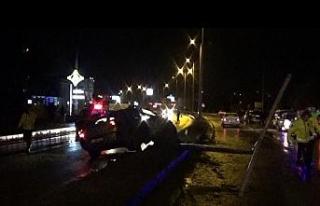 Bartın'da 5 aracın karıştığı kazada 2 kişi...