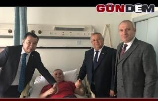 Başkan Akdoğan iyileşiyor