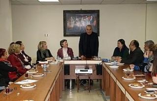 Başkan Bozkurt Kent Konseyi Üyeleri ile bir araya...
