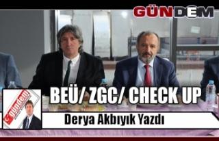 BEÜ/ ZGC/ CHECK UP
