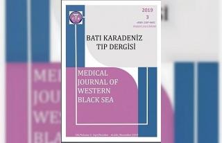 BEÜ Tıp Fakültesi 'Batı Karadeniz Tıp Dergisi'nin...