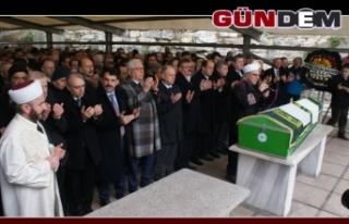 Binlerce kişi Çimenoğlu'nu son yolculuğuna...