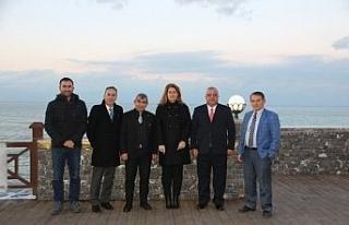 Bulgar Türkleri Akçakoca Belediyesini ziyaret etti