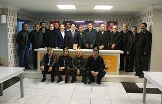 """""""MUHTARLARIMIZ KÖPRÜ VAZİFESİ GÖRÜYOR"""""""
