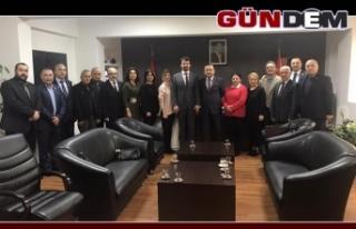 CHP yönetiminden Kuyu'ya ziyaret