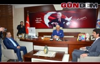 CHP yönetiminden Posbıyık'a ziyaret...