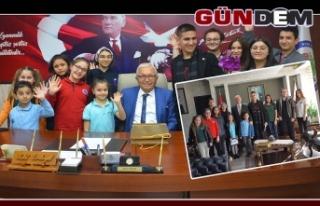ÇOCUK VE GENÇLİK MECLİSİ, PROTOKOLÜ ZİYARET...