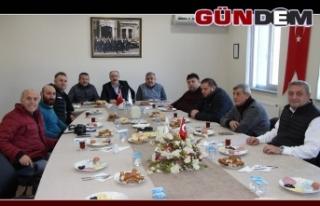 Devrek TSO gazetecileri kahvaltıda buluşturdu...