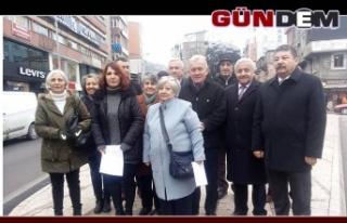 """""""KANAL İSTANBUL PROJESİNE HAYIR DİYORUZ"""""""
