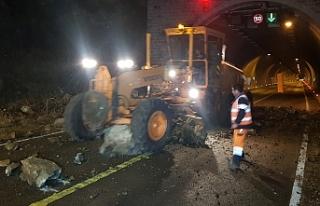 Karabük - Zonguldak karayolu yeniden ulaşıma açıldı