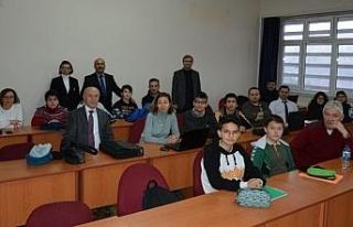 Karabük'te öğrenciler Endüstri 4.0 ile tanışıyor