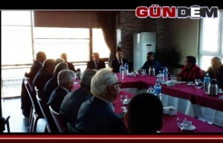Kaymakam başkanlığında  toplandılar