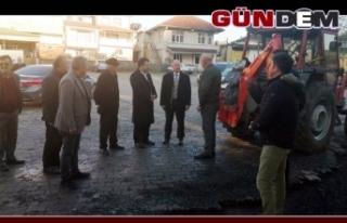 Kaymakam Çorumluoğlu Subaşında incelemelerde bulundu