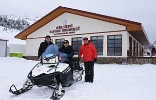 Keltepe Kayak Merkezi hizmete girdi