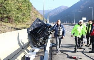 Şaşırtan kaza!...