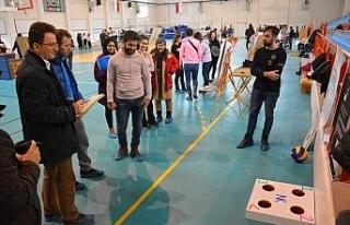 Spor Bilimleri Fakültesi öğrencileri yeni ürünler...