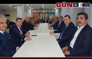 Tosun İl Genel Meclisi Üyeleri ile biraraya geldi
