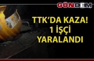 TTK'DA İŞ KAZASI; 1 İŞÇİ YARALANDI