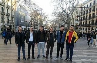 Yenice ÇPAL öğrencileri staj için Avrupa 'da