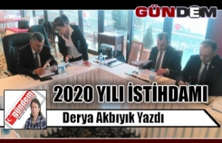 2020 YILI İSTİHDAMI