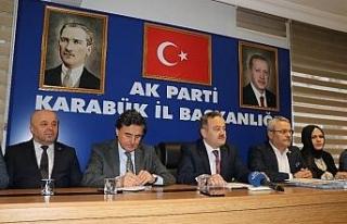 AK Parti Milletvekillerinden bilgilendirme toplantısı
