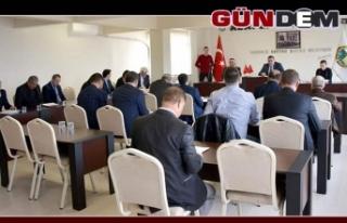 ALAPLI BELEDİYE MECLİS TOPLANTISI YAPILDI...