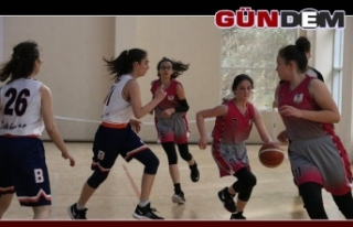 Basketbol U-14 Kızlar 3.Bölge Şampiyonası başladı