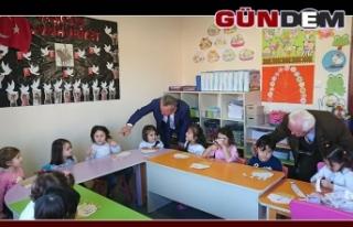 Belediye Kreşine tam not verdi...