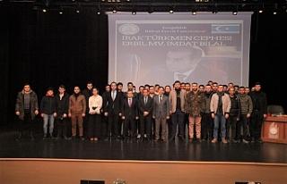 """""""Irak'taki Türkmenlerin Son Durumu"""" Konuşuldu"""