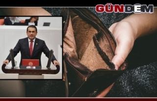 """""""KRİZİN FATURASI, DAR GELİRLİYE!"""